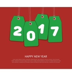 New year template vector