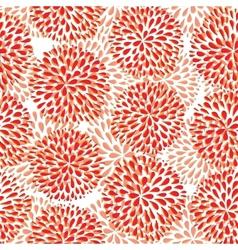seamless pattern Modern floral texture vector image vector image