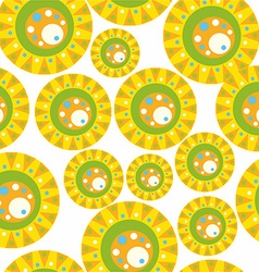 Pattern with colored circles vector