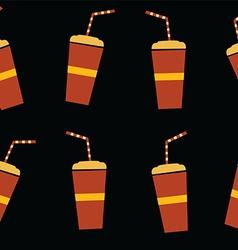fresh juice drink theme vector image