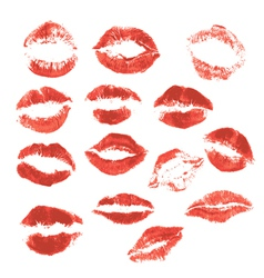 Set lips 3 380 vector