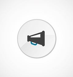 speaker icon 2 colored vector image vector image