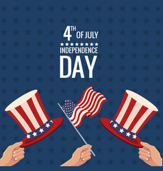 united states independence day traditional event vector image