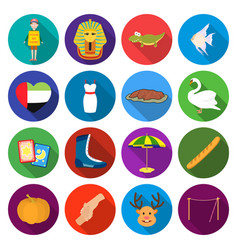 textiles cafes hobbies and other web icon in vector image