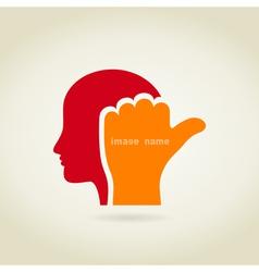 Head2 vector image