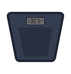 Digital scale icon vector