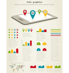 Info graphics vector