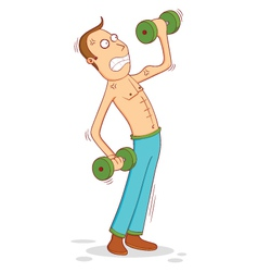 Dumbbell time vector