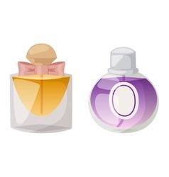 Perfume bottle set vector image vector image