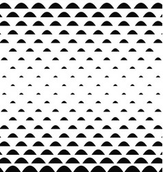 Black white curved shape pattern background vector