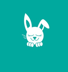 Bunny dreaming vector