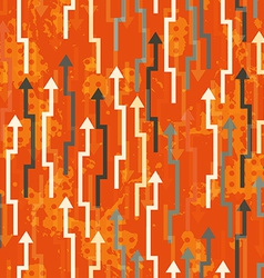 Abstract arrows seamless vector