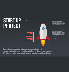 Business infographic start up element concept vector