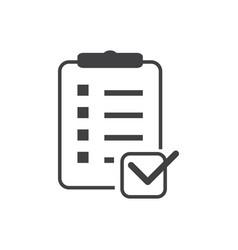 List icon vector