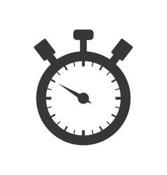 Chronometer circle time traditional icon vector