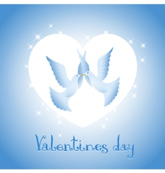 Background on Valentines Day vector image
