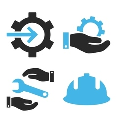 Development flat icons vector
