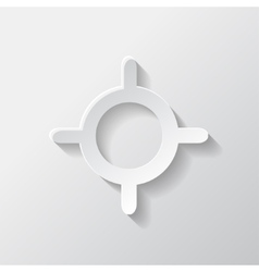 Pointer web icon vector image