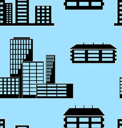 Buildings seamless vector