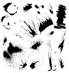 blots set 3 380 vector image