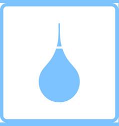 Enema icon vector