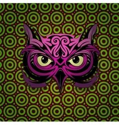 Mystic owl vector
