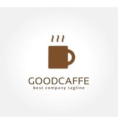 Abstract coffe cup logo icon concept Logotype vector image vector image