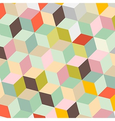 Colorful Abstract Retro Background vector image vector image