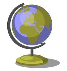 Earth globe set 007 vector image