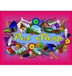 Pit shop vector