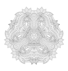Beautiful Deco Monochrome Triangle vector image vector image
