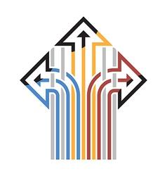 Three Arrows vector image vector image