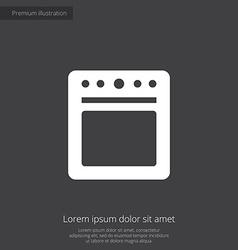 Cooker premium icon vector