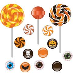 Halloween sweets vector image vector image