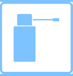 Inhalator icon vector