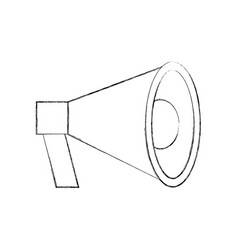 Megaphone loudspeaker volume marketing advertising vector