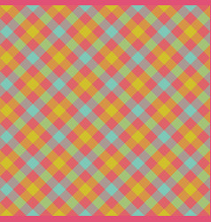 Check plaid fabric texture seamless pattern vector