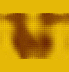 Abstract background with halftone color stains vector