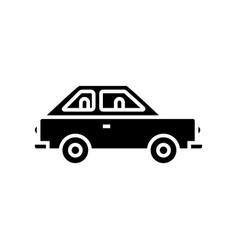 car auto simple cute icon vector image