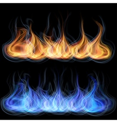 Tongues of flame vector