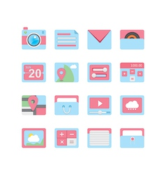 Web icons 23 vector image