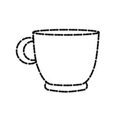 Coffee mug isolated vector