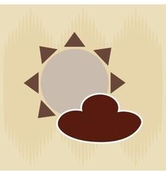 field day icon design vector image