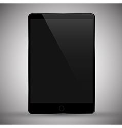 modern tablet pc vector image