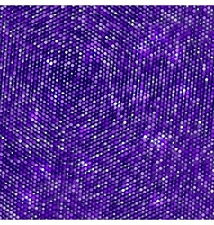 Disco background with dots vector image