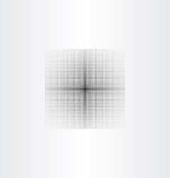 Black halftone square background vector