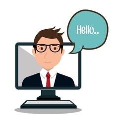 Online community design vector
