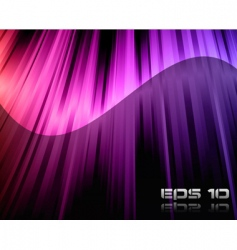 rainbow lights background vector image