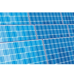 solar panels design vector image