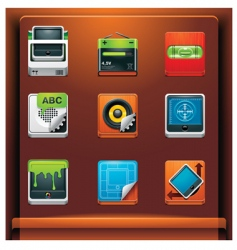 system tools vector image